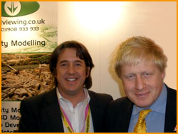 VV meet Boris Johnson at MIPIM 2010